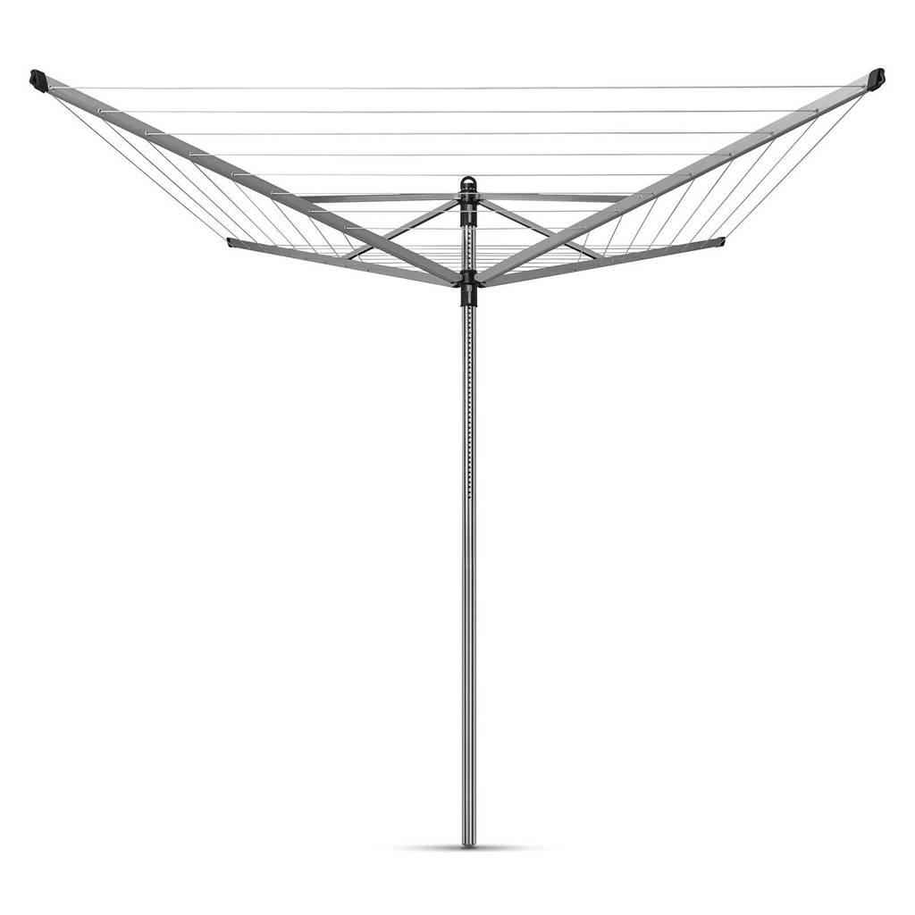 Brabantia Lift-O-Matic droogmolen 60 meter, Zilver