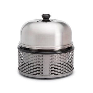 Pro barbecue alumiumgrijs