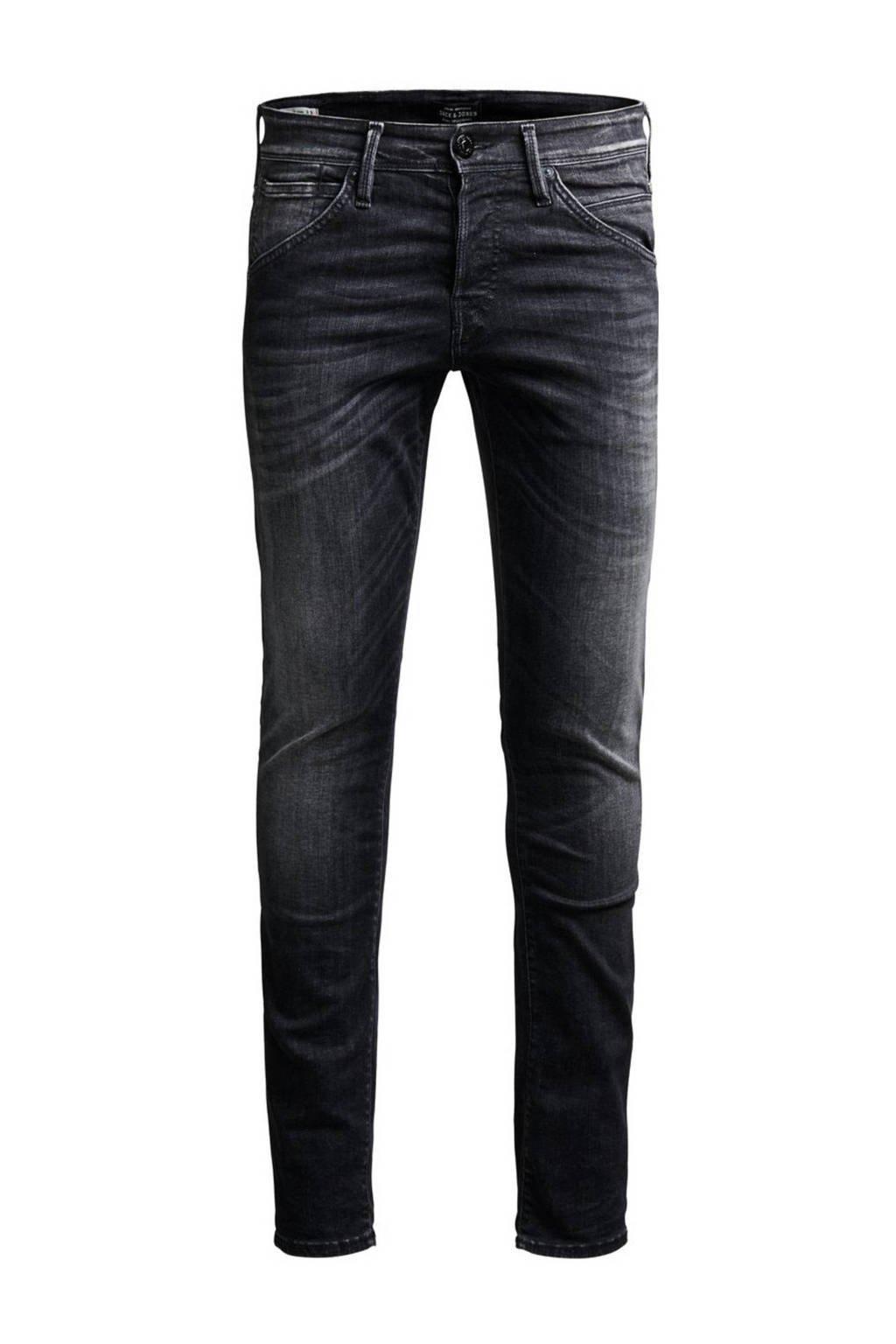 JACK & JONES JEANS INTELLIGENCE slim fit jeans Glenn Grey denim, 655 Grey Denim