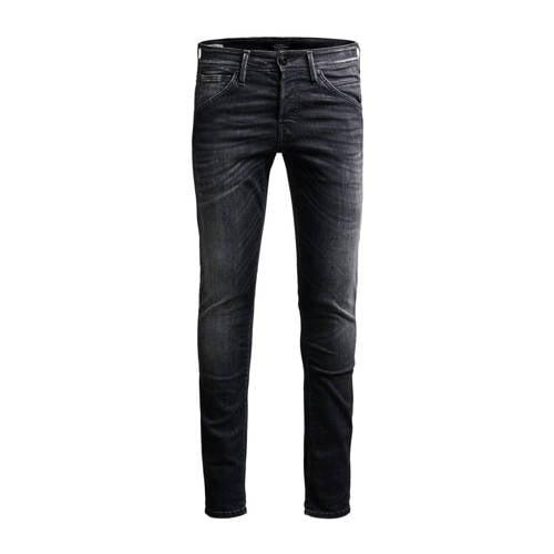 JACK & JONES JEANS INTELLIGENCE slim fit jeans Glenn Grey denim