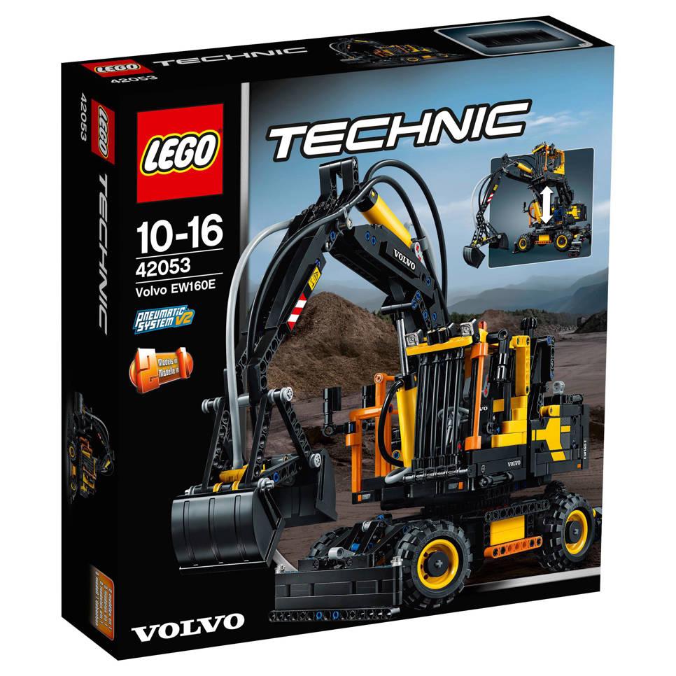 LEGO Technic Volvo EW160E graafmachine 42053