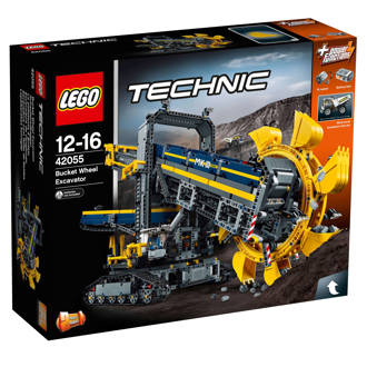 Technic emmerwiel graafmachine 42055