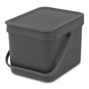 Sort & Go afvalemmer, 6 liter
