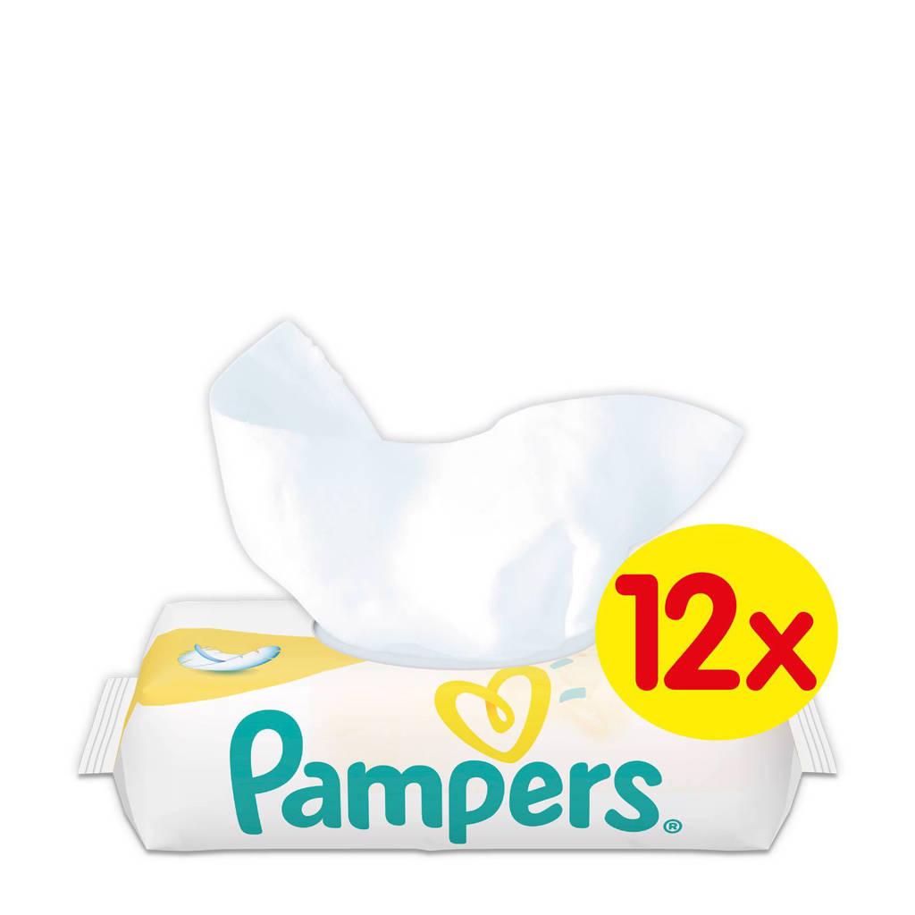 Pampers Sensitive New Baby 12 x 50 babydoekjes
