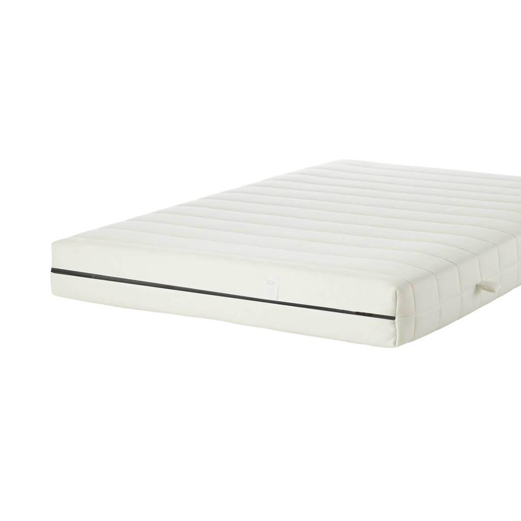 Wehkamp Home pocketveringmatras Premium koudschuim medium (140x200 cm), Wit