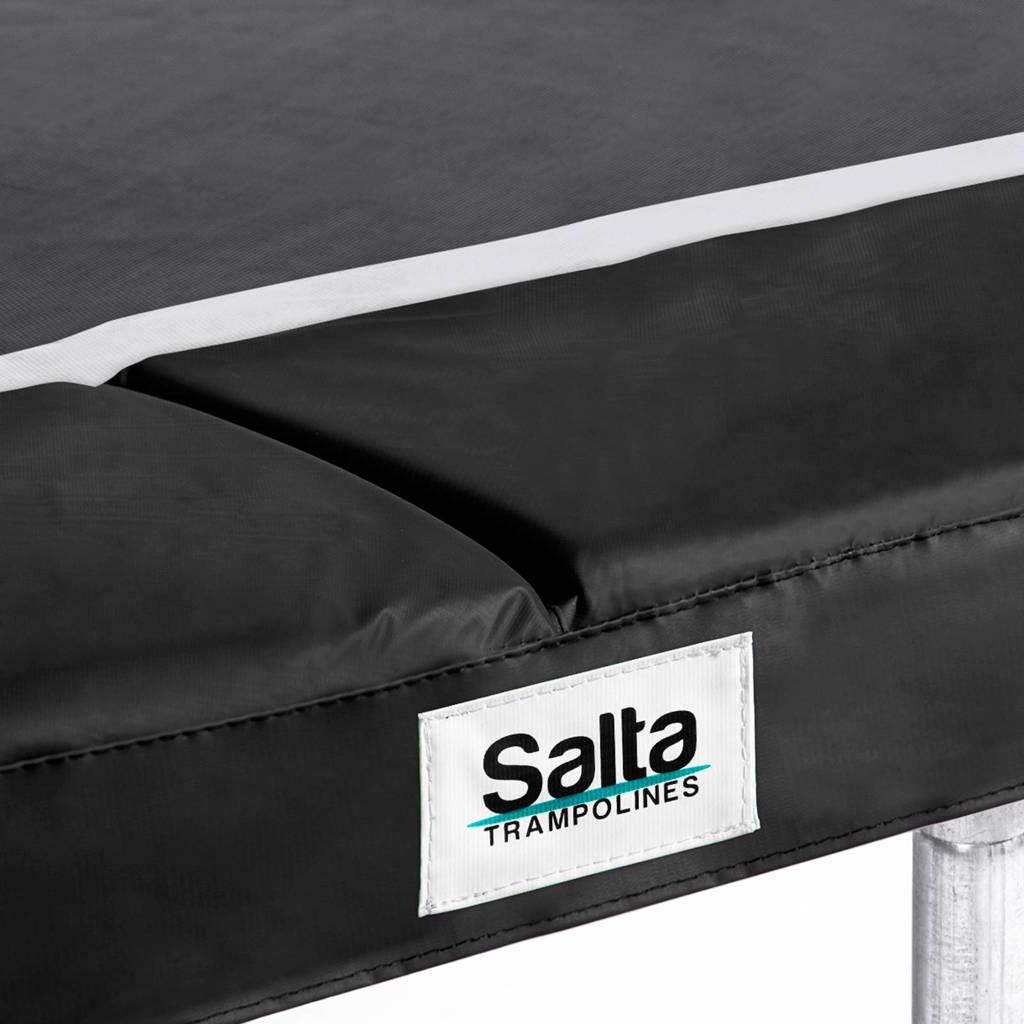 Salta 214x305cm trampoline beschermrand, 213x305, Zwart