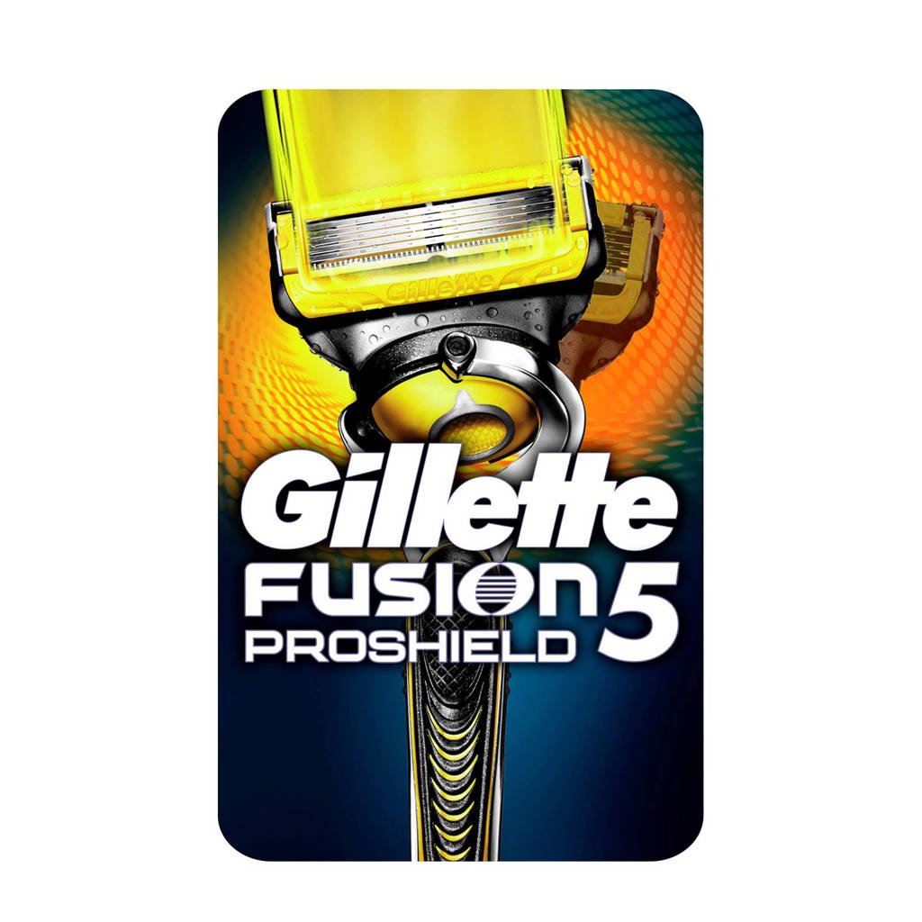 Gillette - Fusion ProShield scheersysteem met Flexball technologie