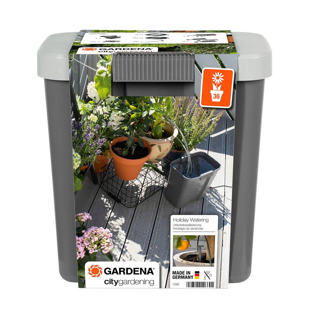 Gardena vakantiebewateringsset met voorraadvat
