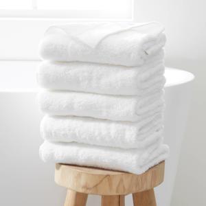 handdoek hotelkwaliteit (set van 5) (50 x 100 cm) Wit