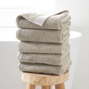 handdoek hotelkwaliteit (set van 5) (50 x 100 cm) Taupe