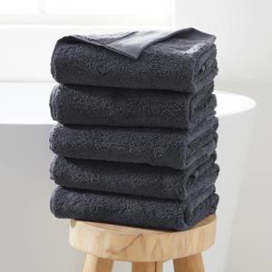 handdoek hotelkwaliteit (set van 5) (50 x 100 cm) Antraciet