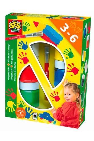 vingerverf 6 kleuren