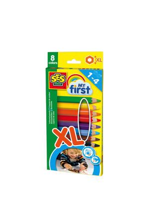XL kleurpotloden (8 st.)