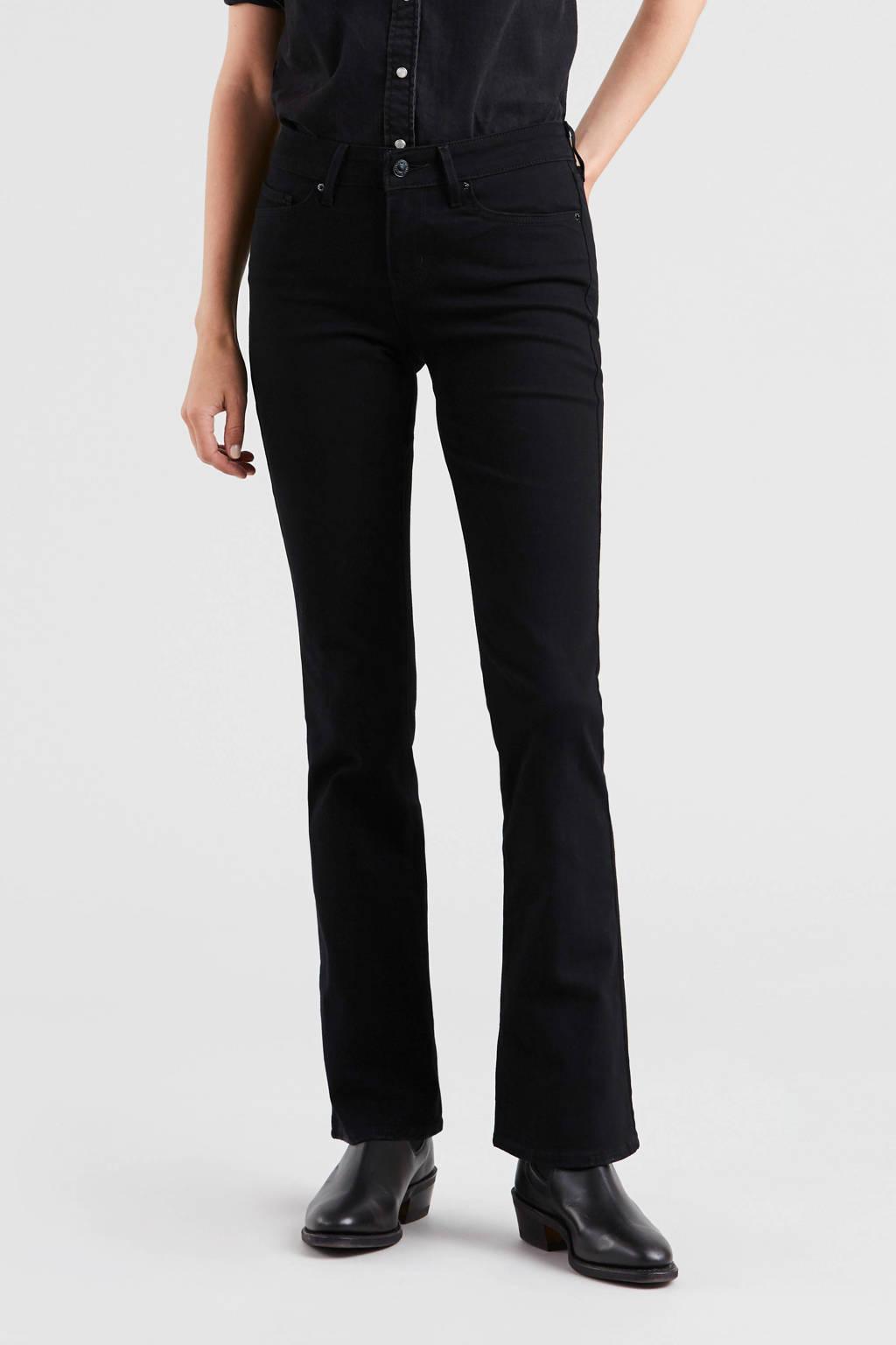 Levi's 715 Bootcut jeans, Zwart