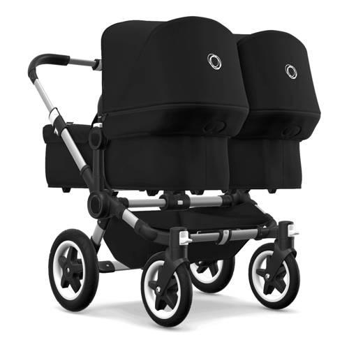 Bugaboo Donkey² Twin kinderwagen aluminium-zwart
