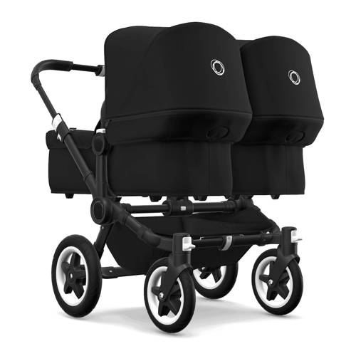 Bugaboo Donkey² Twin kinderwagen zwart-zwart