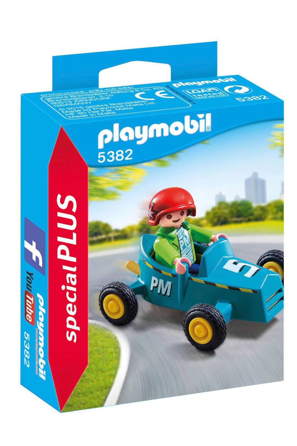 Playmobil Special Plus jongen met kartwagen 5382