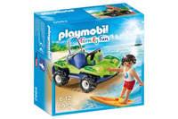 Playmobil Family Fun surfer met strandbuggy  6982
