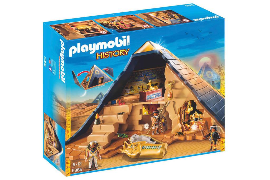 Playmobil History pyramide van de farao   5386