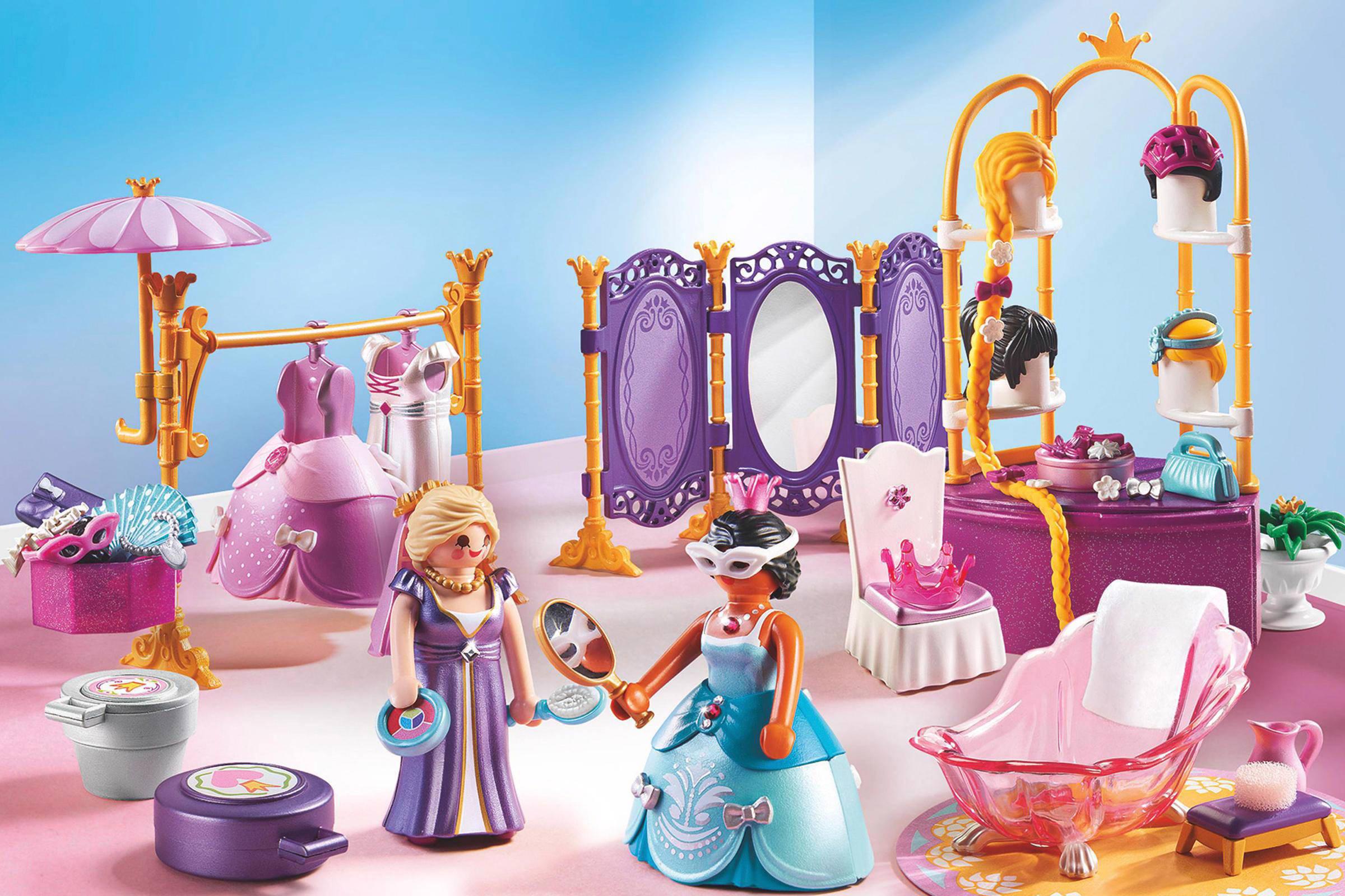 Playmobil princess koninklijke paskamer en schoonheidssalon