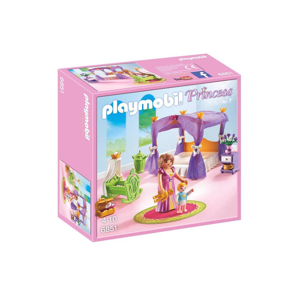 Playmobil Princess koninklijke slaapkamer met hemelbed 6851 | wehkamp