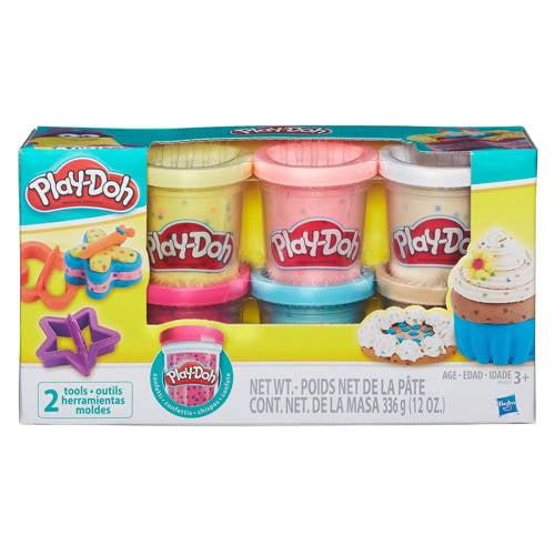 Play-Doh confetti 6 potjes kopen
