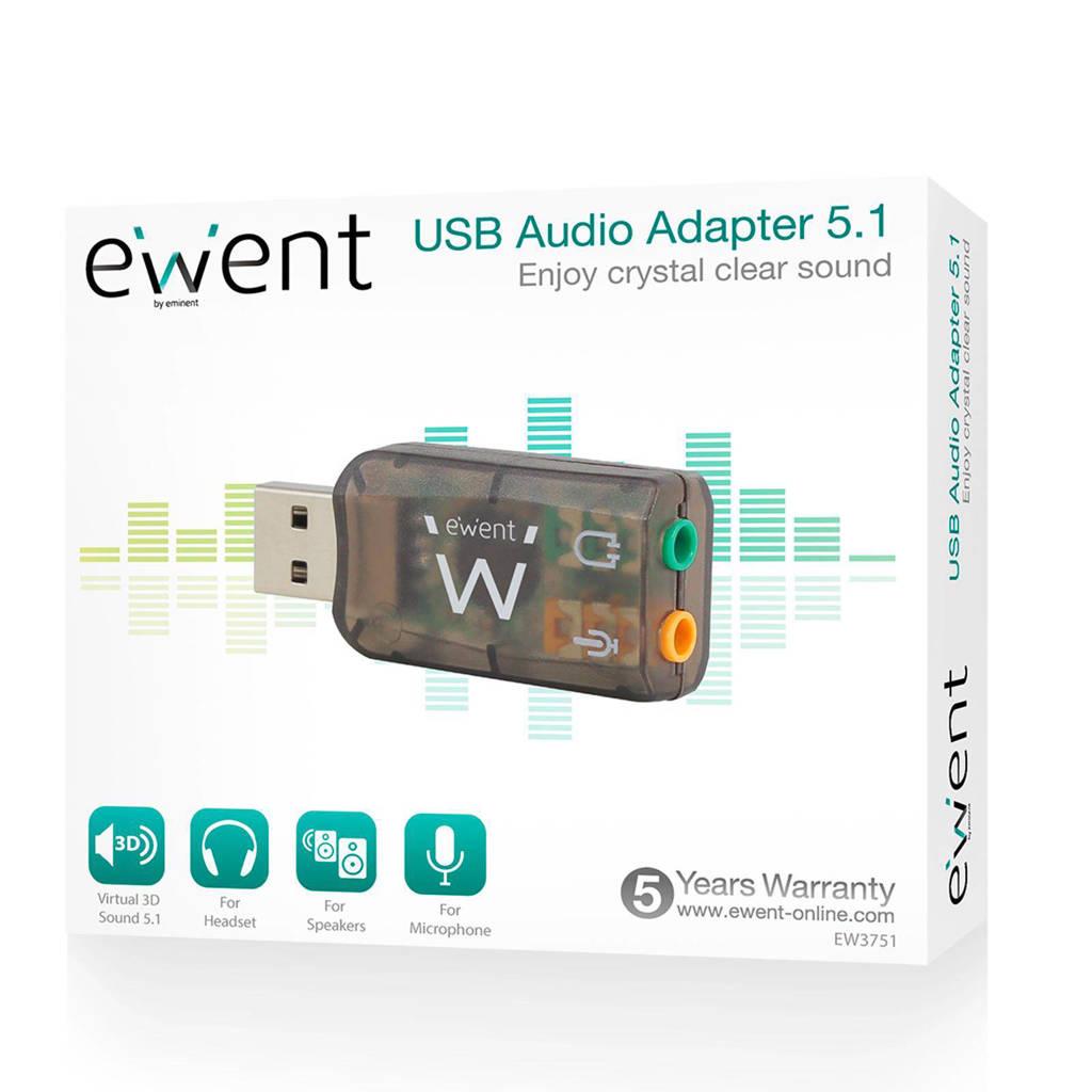 Wonderlijk Ewent Virtual 3D externe geluidskaart EW3751 | wehkamp KJ-75