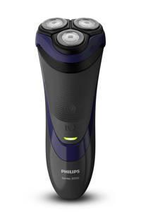 Philips S3120/06 Shaver series 3000 scheerapparaat (droog scheren), Zwart