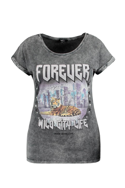 MS Mode T-shirt, Grijs
