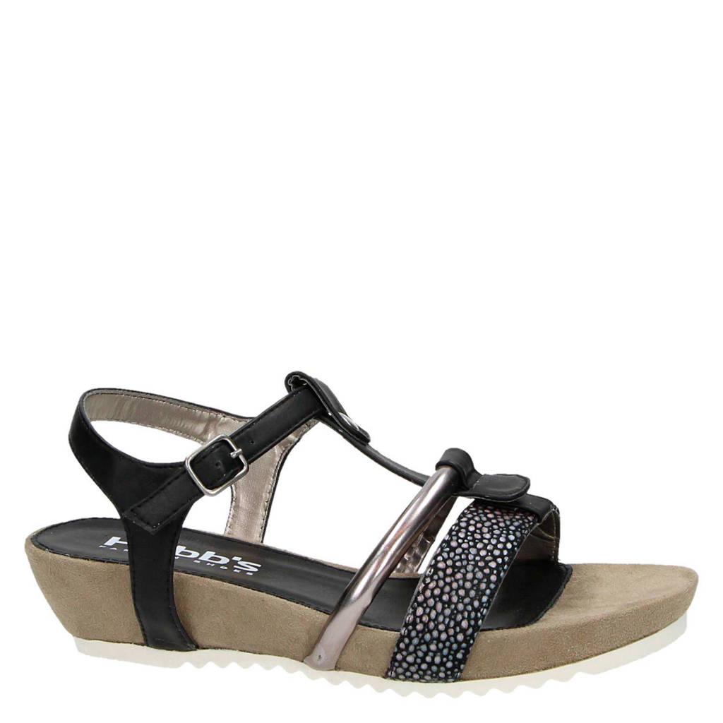 Hobb's sandalen, Zwart