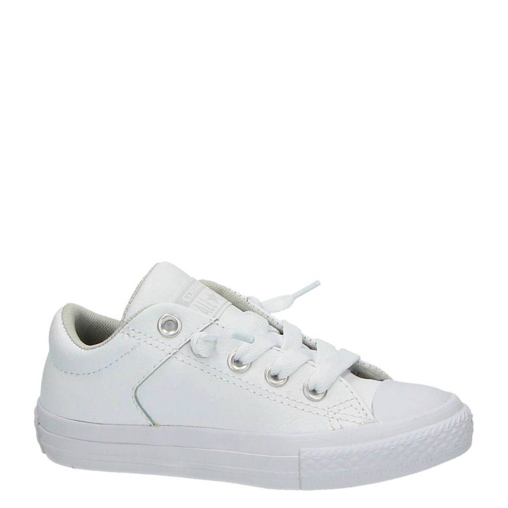 61be7cf743d Converse All Star leren sneakers | wehkamp