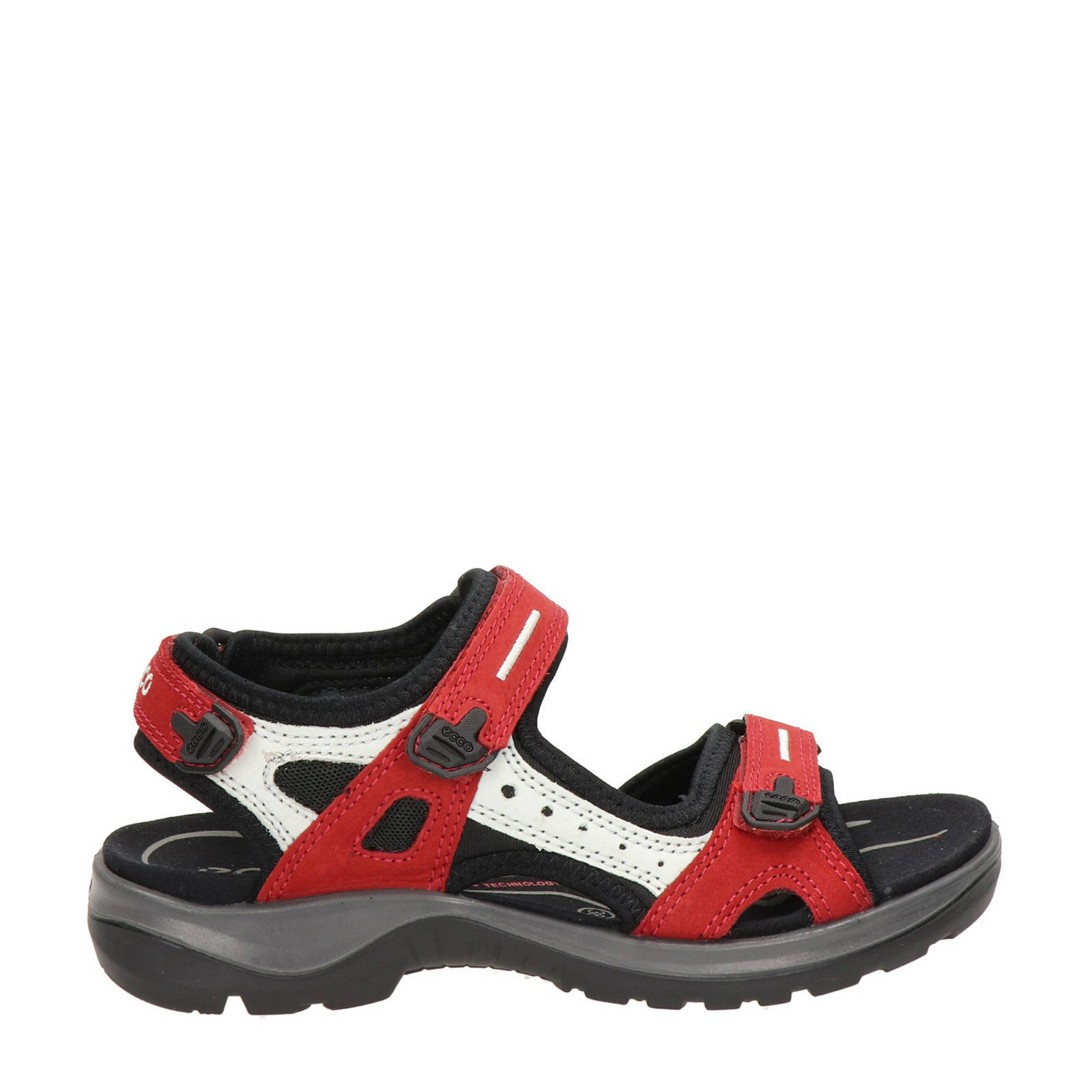 Offroad outdoor sandalen roodwit