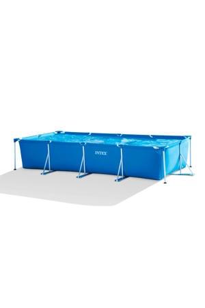 zwembad (450x220 cm) met filterpomp