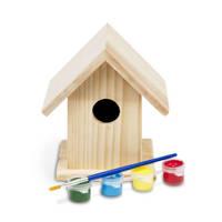 BS Toys  schilderbaar vogelhuisje
