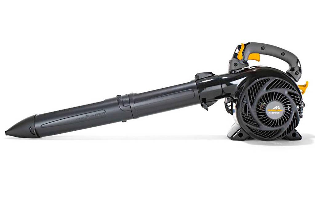 McCulloch MAC GBV 345 benzine bladblazer, Zwart