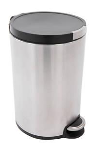 EKO Artistic pedaalemmer  (12 liter) Zilver/zwart