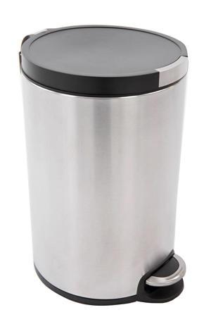 Artistic pedaalemmer  (12 liter) Zilver/zwart