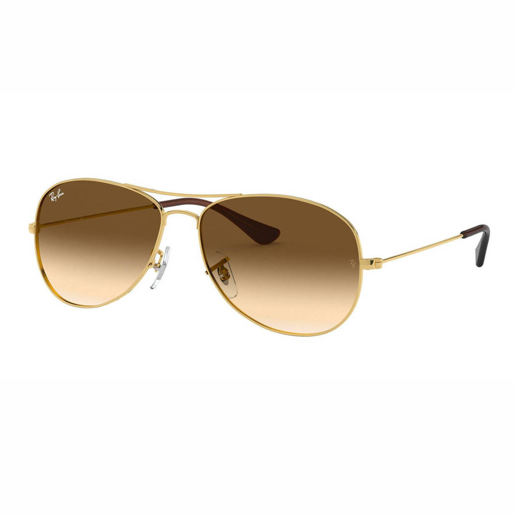 Ray-Ban zonnebril 0RB3362, Goud/bruin