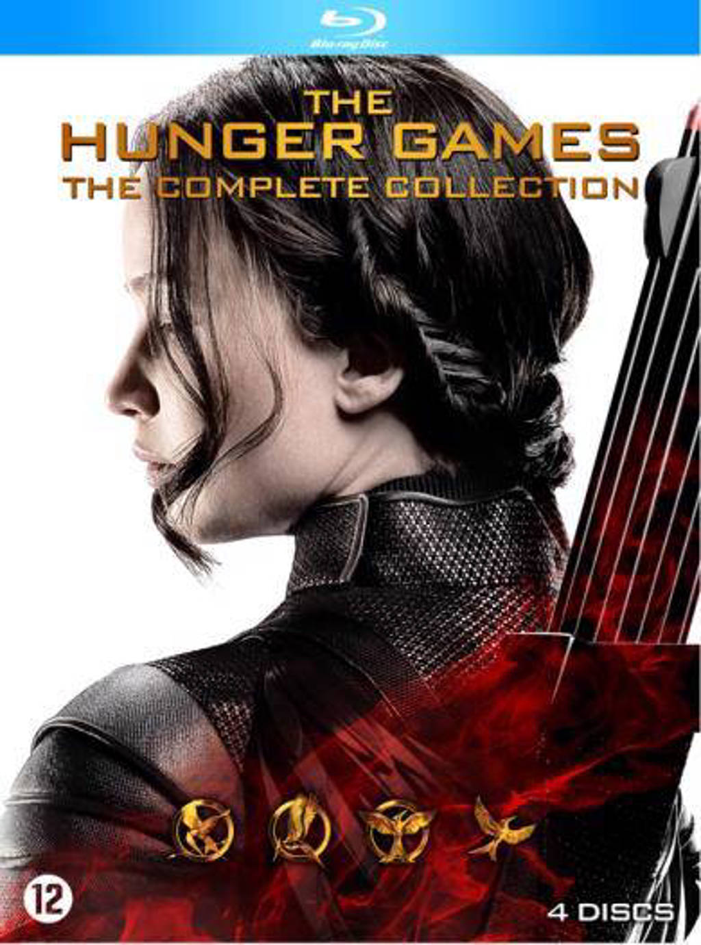 Hunger games - Complete collection (Blu-ray)