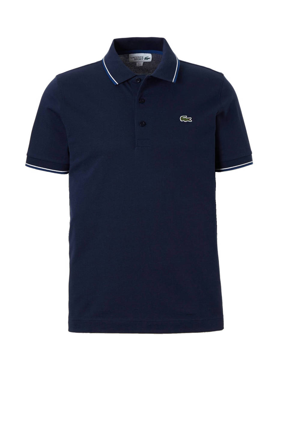 Lacoste classic fit polo, Donkerblauw