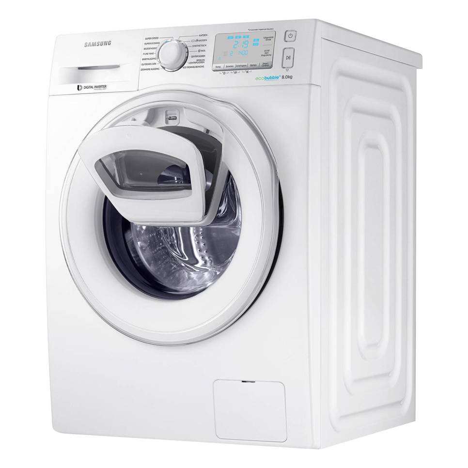 Samsung WW80K6405SW AddWash wasmachine