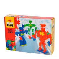Plus-Plus  Mini Neon Robots 170 stuks