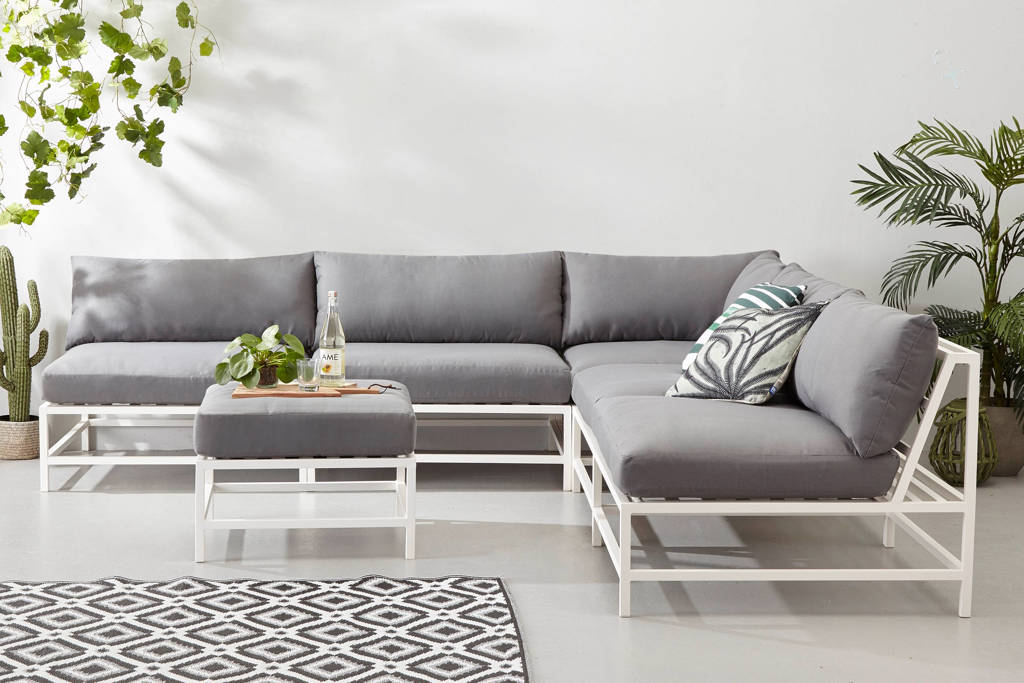 whkmp's own loungeset Pacific, wit met grijs