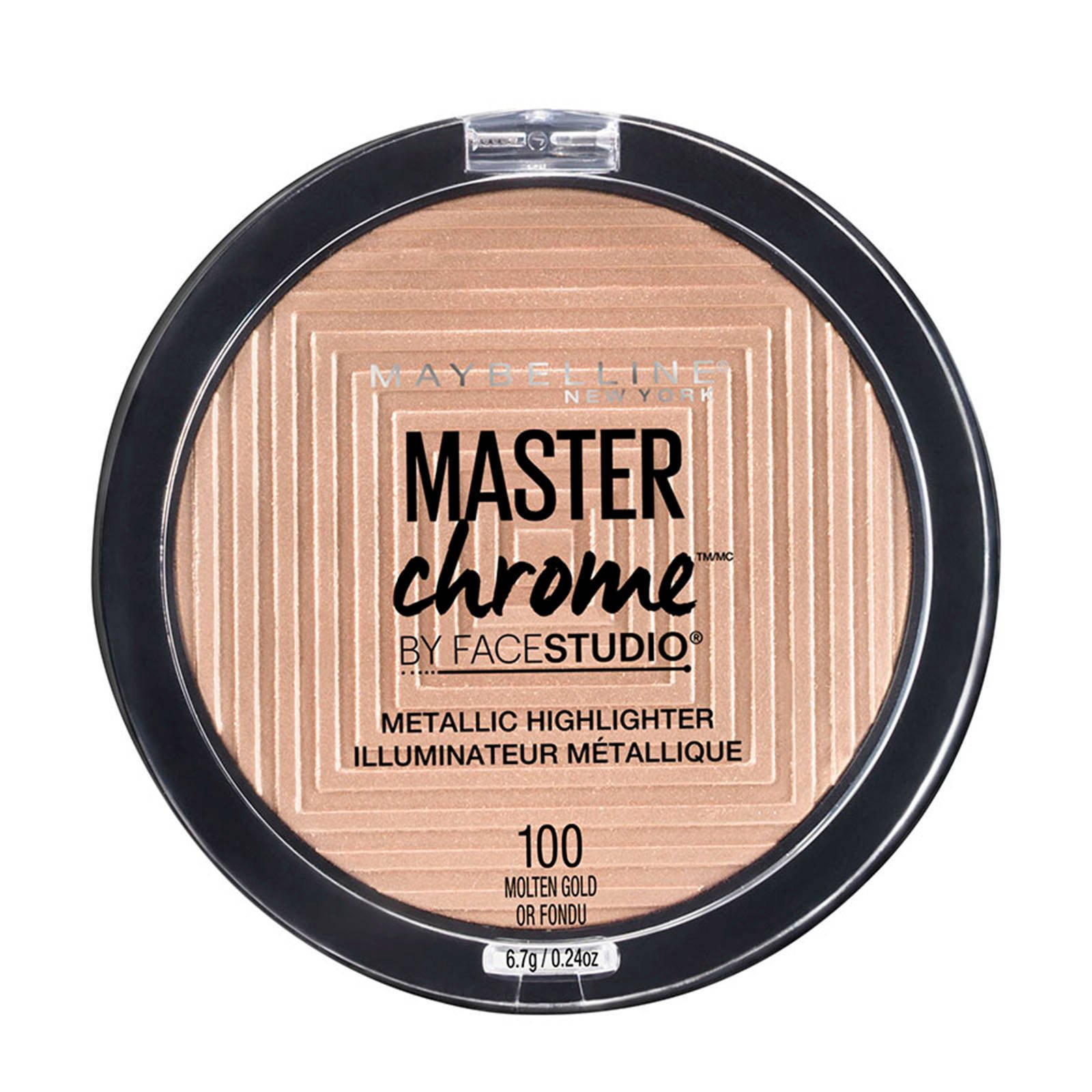 Maybelline Master Chrome – 100 Molten Gold - Highlighter