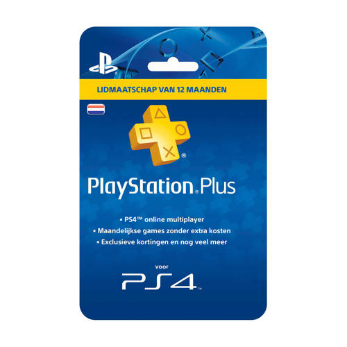 PlayStation Plus Card - 1 Jaar kopen