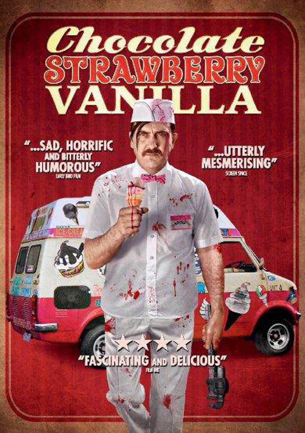Chocolate, strawberry, vanilla (DVD)