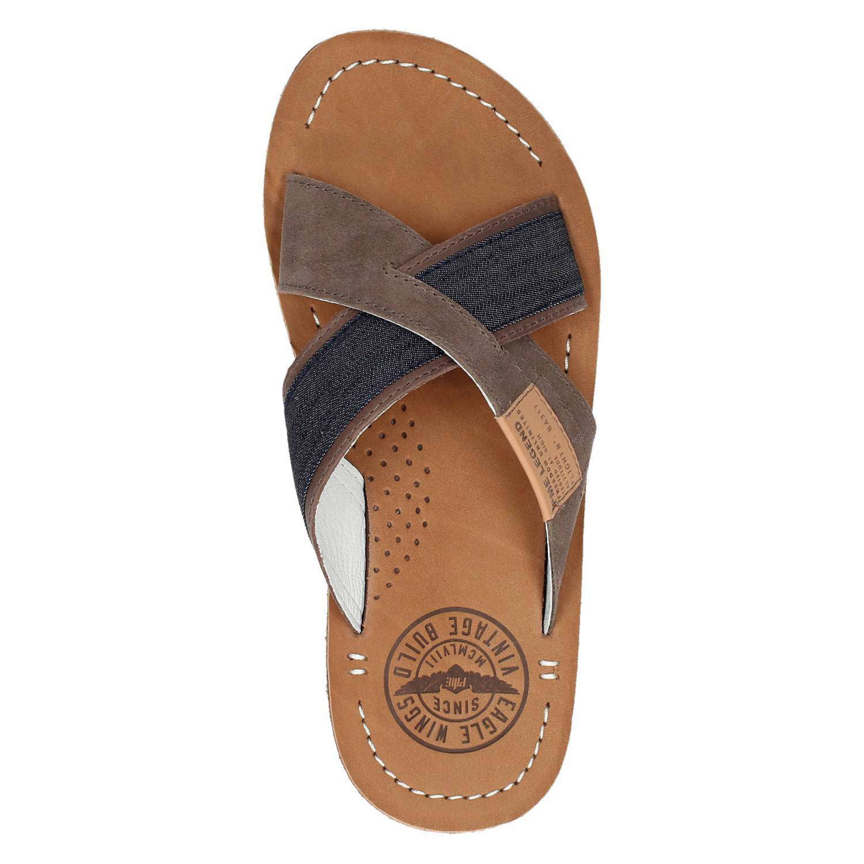 6454120253946c PME Legend leren slippers | wehkamp