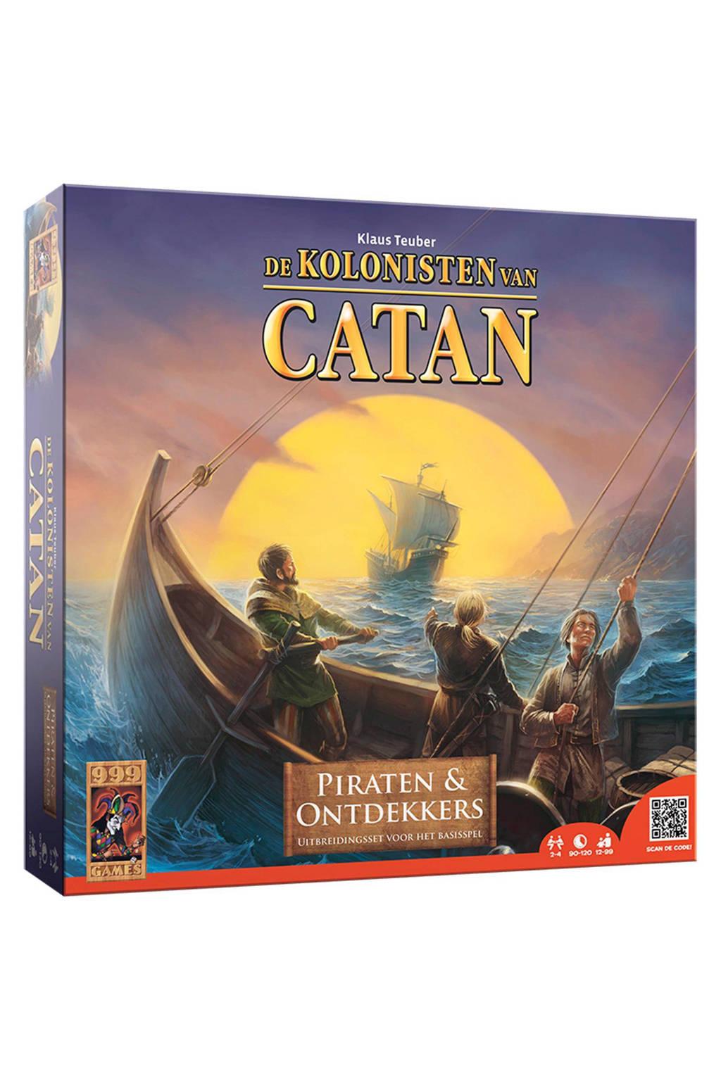 999 Games Catan Piraten & Ontdekkers uitbreidingsspel