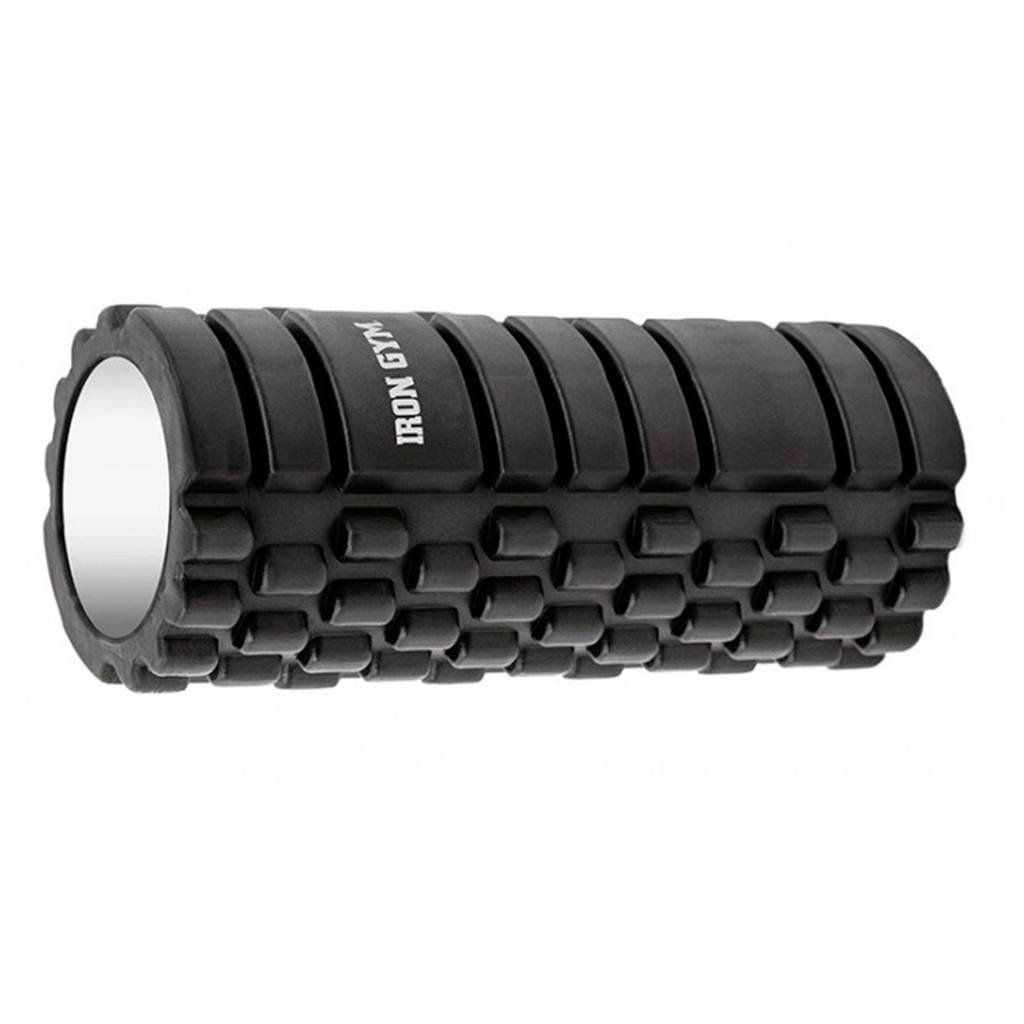 Iron Gym foam roller, Zwart