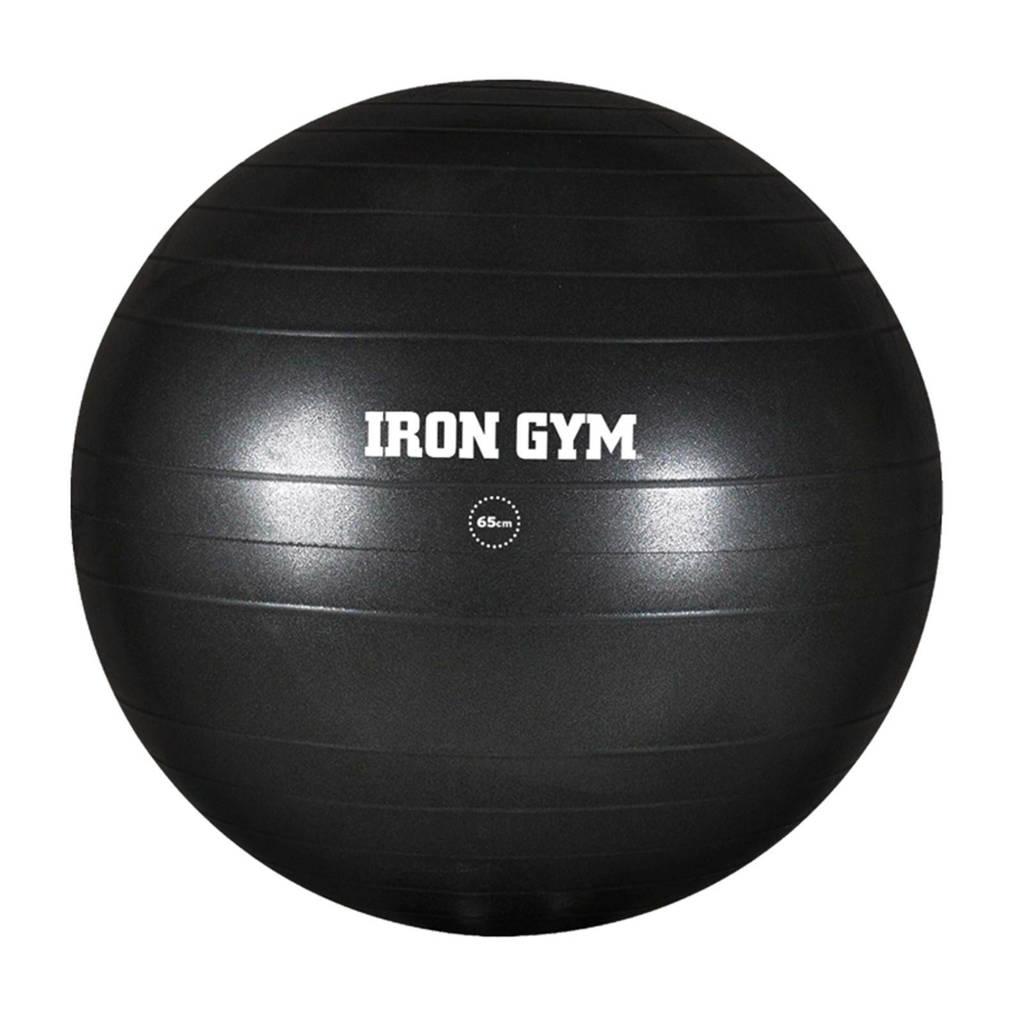 Iron Gym exercise bal, Zwart